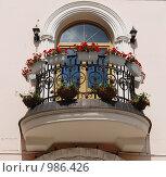Купить «Балкончик на территории Измайловского кремля. Москва. Россия», фото № 986426, снято 19 июля 2009 г. (c) Екатерина Овсянникова / Фотобанк Лори