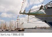Купить «Регата The Tall Ships' Races Baltic — 2009 - петербургский    этап», фото № 986618, снято 12 июля 2009 г. (c) Григорьева Любовь / Фотобанк Лори