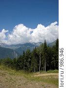 Купить «Горный пейзаж», фото № 986946, снято 7 июля 2009 г. (c) Татьяна Дигурян / Фотобанк Лори