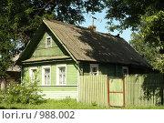Старая Русса. Деревенский домик (2009 год). Стоковое фото, фотограф Корчагина Полина / Фотобанк Лори