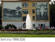 Купить «Старая Русса. Курорт. Муравьевский фонтан», фото № 988026, снято 12 июля 2009 г. (c) Корчагина Полина / Фотобанк Лори