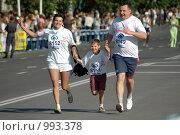 Купить «Сибирский международный марафон,», фото № 993378, снято 11 мая 2006 г. (c) Валерий Гашеев / Фотобанк Лори