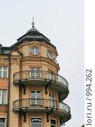 Купить «Городской пейзаж.  (Уппсала, Швеция)», фото № 994262, снято 16 марта 2009 г. (c) Александр Секретарев / Фотобанк Лори