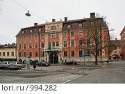 Купить «Городской пейзаж (Уппсала, Швеция)», фото № 994282, снято 16 марта 2009 г. (c) Александр Секретарев / Фотобанк Лори