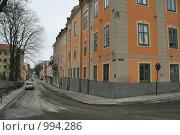 Купить «Городской пейзаж (Уппсала, Швеция)», фото № 994286, снято 16 марта 2009 г. (c) Александр Секретарев / Фотобанк Лори