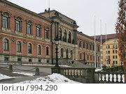 Купить «Городской пейзаж. Университет. (Уппсала, Швеция)», фото № 994290, снято 16 марта 2009 г. (c) Александр Секретарев / Фотобанк Лори