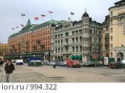 Купить «Городской пейзаж (Стокгольм, Швеция)», фото № 994322, снято 16 марта 2009 г. (c) Александр Секретарев / Фотобанк Лори