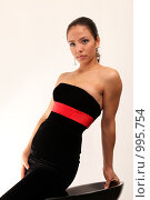 Купить «Очаровательная юная модель», фото № 995754, снято 24 июля 2009 г. (c) Павел Гундич / Фотобанк Лори