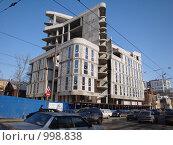 Недостроенный дом (2009 год). Редакционное фото, фотограф Дмитрий Романчук / Фотобанк Лори