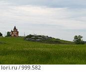 Купить «Разрушенная церковь», фото № 999582, снято 24 июля 2009 г. (c) Andrey M / Фотобанк Лори