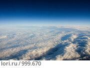 Купить «Небо», фото № 999670, снято 4 марта 2008 г. (c) Александр Трушкин / Фотобанк Лори