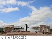 Купить «Парк Победы. Караганда. Ротонда с фонтаном», фото № 1000286, снято 26 июля 2009 г. (c) Михаил Николаев / Фотобанк Лори