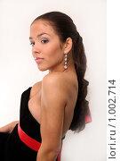 Купить «Очаровательная юная модель», фото № 1002714, снято 24 июля 2009 г. (c) Павел Гундич / Фотобанк Лори