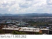 Пейзаж Улан-Удэ (2009 год). Стоковое фото, фотограф Евгений Кузьмин / Фотобанк Лори