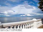 Вид на город со стороны Петродворца. Санкт-Петербург (2009 год). Редакционное фото, фотограф Татьяна Князева / Фотобанк Лори