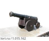 Пушка образца XVIII века (2009 год). Редакционное фото, фотограф Евгений Зиновьев / Фотобанк Лори