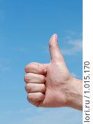 Рука с жестом. Стоковое фото, фотограф Сухоносова Анастасия / Фотобанк Лори