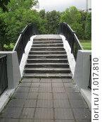Горбатый мост в парке (2009 год). Стоковое фото, фотограф Pavel S. Popov / Фотобанк Лори