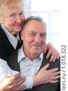 Купить «Портрет пожилой пары», фото № 1018322, снято 12 апреля 2009 г. (c) Losevsky Pavel / Фотобанк Лори