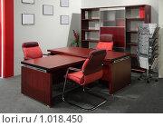 Купить «Интерьер кабинета руководителя», фото № 1018450, снято 28 ноября 2008 г. (c) Losevsky Pavel / Фотобанк Лори