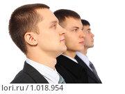 Купить «Трое бизнесменов», фото № 1018954, снято 12 февраля 2009 г. (c) Losevsky Pavel / Фотобанк Лори