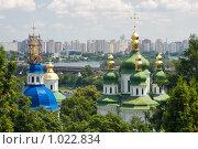 Киев, вид на Выдубицкий монастырь (2009 год). Стоковое фото, фотограф Алексей Котлов / Фотобанк Лори