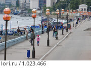 Купить «Набережная в Саратове», фото № 1023466, снято 8 августа 2009 г. (c) Александр Легкий / Фотобанк Лори
