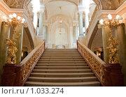 Купить «Лестница. Одесский национальный академический театр оперы и балета», фото № 1033274, снято 13 мая 2009 г. (c) Сергей Галушко / Фотобанк Лори
