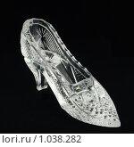Купить «Хрустальная туфелька», фото № 1038282, снято 7 сентября 2008 г. (c) Денис Гоппен / Фотобанк Лори