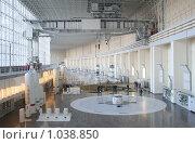 Машинный зал Саяно-Шушенская ГЭС (2008 год). Редакционное фото, фотограф Елена Иценко / Фотобанк Лори