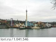 Купить «Городской пейзаж (Стокгольм, Швеция)», фото № 1041546, снято 16 марта 2009 г. (c) Александр Секретарев / Фотобанк Лори