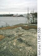 Купить «Городской пейзаж. Паромы у причала (Стокгольм, Швеция)», фото № 1041550, снято 16 марта 2009 г. (c) Александр Секретарев / Фотобанк Лори