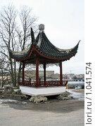 Купить «Городской пейзаж. Китайская беседка (Стокгольм, Швеция)», фото № 1041574, снято 16 марта 2009 г. (c) Александр Секретарев / Фотобанк Лори