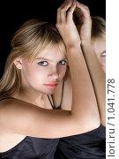 Купить «Портрет девушки», фото № 1041778, снято 15 декабря 2008 г. (c) Сергей Сухоруков / Фотобанк Лори