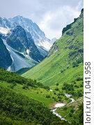 Купить «Горы Кавказа летом», фото № 1041958, снято 19 июля 2009 г. (c) Артём Сапегин / Фотобанк Лори
