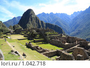 Купить «Мачу Пикчу  ( Machu Picchu )», фото № 1042718, снято 16 июня 2009 г. (c) Кирилл Трифонов / Фотобанк Лори