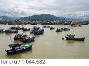 Устье реки в Нячанг (2008 год). Редакционное фото, фотограф Всеволод Майский / Фотобанк Лори
