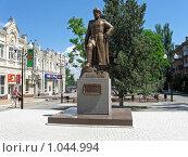 Купить «Памятник первому русскому генералиссимусу в городе Азов», фото № 1044994, снято 16 июня 2009 г. (c) Parmenov Pavel / Фотобанк Лори