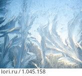 Ледяные узоры. Стоковое фото, фотограф Павел Корчагин / Фотобанк Лори