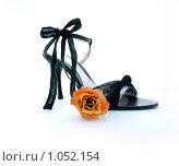 Купить «Женская туфля на высоком каблуке», фото № 1052154, снято 25 августа 2009 г. (c) Оксана Белая / Фотобанк Лори