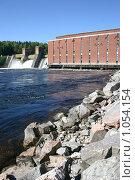 Купить «Лесогорская ГЭС (Ленинградская область)», фото № 1054154, снято 25 августа 2009 г. (c) Александр Секретарев / Фотобанк Лори