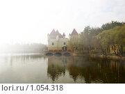 Туман над водой. Стоковое фото, фотограф Наталья Ревкина / Фотобанк Лори