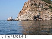 Скалистый морской берег (2009 год). Стоковое фото, фотограф Маснюк Мария / Фотобанк Лори