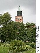 Купить «Кафедральный собор (г. Турку. Финляндия)», фото № 1061022, снято 2 августа 2009 г. (c) Александр Секретарев / Фотобанк Лори