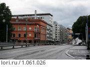 Купить «Городской пейзаж (г. Турку. Финляндия)», фото № 1061026, снято 2 августа 2009 г. (c) Александр Секретарев / Фотобанк Лори