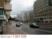 Купить «Городской пейзаж (г. Турку. Финляндия)», фото № 1061038, снято 2 августа 2009 г. (c) Александр Секретарев / Фотобанк Лори