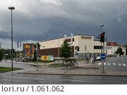 Купить «Городской пейзаж (г. Турку. Финляндия)», фото № 1061062, снято 2 августа 2009 г. (c) Александр Секретарев / Фотобанк Лори