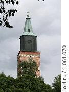 Купить «Кафедральный собор (г. Турку. Финляндия)», фото № 1061070, снято 2 августа 2009 г. (c) Александр Секретарев / Фотобанк Лори