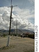 Купить «Село Могур-Аксы (центральная улица)», фото № 1064210, снято 16 августа 2009 г. (c) Stepanuk Valera / Фотобанк Лори