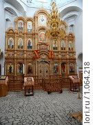 Купить «Внутри церкви Богоявления (Старая Майна, Ульяновская область)», фото № 1064218, снято 29 августа 2009 г. (c) Андрияшкин Александр / Фотобанк Лори